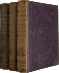 Books:Travels & Voyages, Commodore M. C. Perry. Narrative of the Expedition...to...Japan,Performed in the Years 1852, 1853, and 1854. Washin... (Total:3 Items)