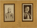 Autographs:Others, Circa 1909 Ty Cobb Signed Souvenir Photo Booklet....