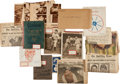 Baseball Collectibles:Others, 1900's-30's George Zindler Balance of Scrapbooks....