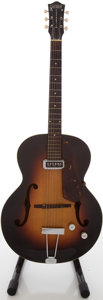 Musical Instruments:Electric Guitars, Circa 1956 Gretsch Electromatic Sunburst Archtop Electric Guitar,#18482....