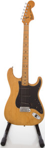 Musical Instruments:Electric Guitars, 1979 Fender Stratocaster Natural Solid Body Electric Guitar,#S942756....