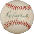 Autographs:Baseballs, Circa 1955 Roy Campanella Single Signed Baseball....