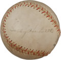 Autographs:Baseballs, 1930's Gabby Hartnett Single Signed Baseball, PSA/DNA EX 5....