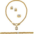 Estate Jewelry:Suites, Diamond, Gold Jewelry Suite, Michael Dawkins. ...