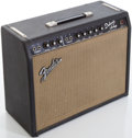 Musical Instruments:Amplifiers, PA, & Effects, Circa 1966 Fender Deluxe Amplifier Blackface Guitar Amplifier,#A03770....