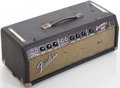 Musical Instruments:Amplifiers, PA, & Effects, Circa 1964 Fender Bassman Brown Guitar Amplifier, #BP05512....