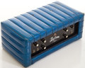 Musical Instruments:Amplifiers, PA, & Effects, Circa Early 1970's Kustom K100 Blue Sparkle Guitar Amplifier, #42082....