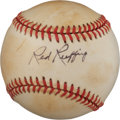 "Autographs:Baseballs, Circa 1970 Charles ""Red"" Ruffing Single Signed Baseball...."