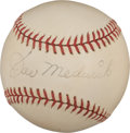 Autographs:Baseballs, 1940's Joe Medwick Single Signed Baseball....
