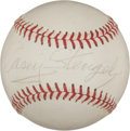 Autographs:Baseballs, Circa 1960 Casey Stengel Single Signed Baseball....
