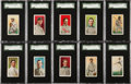 Baseball Cards:Sets, 1909 E95 Philadelphia Caramel Complete Set (25) - #11 on the SGCSet Registry. ...