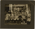 Baseball Collectibles:Photos, 1910 Pittsburgh Pirates Team Cabinet Photograph....