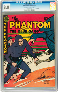 Feature Books #57 The Phantom (David McKay Publications, 1948) CGC VF 8.0 Off-white to white pages