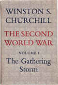 Books:World History, Winston S. Churchill. The Second World War. London: Cassell& Co. Ltd., [1948-1954]. First British edition, first pr...(Total: 6 Items)
