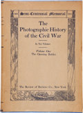 Books:Americana & American History, [Civil War]. Francis Trevelyan Miller [editor]. The PhotographicHistory of the Civil War. Volumes 1-10. New Yor... (Total: 10Items)