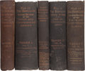 Books:Americana & American History, [Civil War]. The War of the Rebellion. A Compilation ofthe Official Records of the Union and Confederate Armies....(Total: 128 Items)
