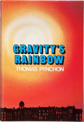Books:Literature 1900-up, Thomas Pynchon. Gravity's Rainbow. New York: Viking, [1973].First edition, first printing. Inscribed and sign...