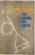 Books:Literature 1900-up, Thomas Pynchon. The Crying of Lot 49. Philadelphia: J. B.Lippincott, 1965. First edition. Inscribed and signed by...