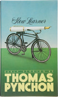 Books:Literature 1900-up, Thomas Pynchon. Slow Learner. Early Stories.Boston/Toronto: Little, Brown and Company, [1984]. First editio...