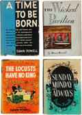 Books:Literature 1900-up, Dawn Powell. Four Signed First Editions, including: A Time to be Born. New York: Charles Scribner's Sons, 1942. Firs... (Total: 4 Items)
