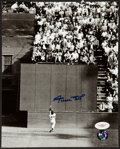 """Baseball Collectibles:Photos, Willie Mays Signed """"The Catch"""" Photograph...."""