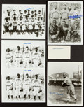 Baseball Collectibles:Others, Negro League Legends Signed Memorabilia Lot of 5....