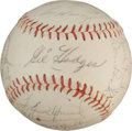 Autographs:Baseballs, 1965 Washington Senators Team Signed Baseball....