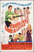 """Movie Posters:Rock and Roll, C'mon, Let's Live a Little (Paramount, 1967). One Sheet (27"""" X41""""). Rock and Roll.. ..."""