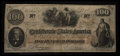 Confederate Notes:1862 Issues, Handwritten Jackson Issuance T41 $100 1862.. ...