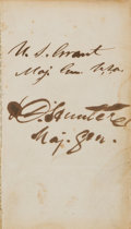 Books:Signed Editions, Ulysses S. Grant Signed Copy of The Book of Common Prayer, andAdministration of the Sacraments, and Other Rites and Cer...