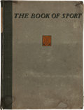 Miscellaneous Collectibles:General, 1901 The Book of Sport....