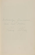 Books:Signed Editions, Calvin Coolidge Signed Copy of The Autobiography of Calvin Coolidge....