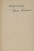 Books:Signed Editions, Eleanor Roosevelt Signed Edition of If You Ask Me....