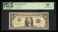 Error Notes:Inverted Third Printings, Fr. 1908-L $1 1974 Federal Reserve Note. PCGS Very Fine 20.. ...