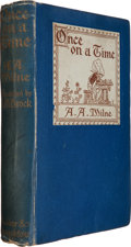 Books:Children's Books, A. A. Milne. Once On a Time. London New York Toronto: Hodderand Stoughton, 1917. First edition. Inscribed by ...
