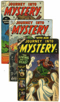 Golden Age (1938-1955):Horror, Journey Into Mystery Group (Marvel, 1953-55).... (Total: 3 ComicBooks)