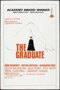 """Movie Posters:Comedy, The Graduate (Avco Embassy, R-1972). One Sheet (27"""" X 41""""). Comedy.. ..."""