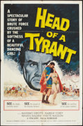 "Movie Posters:Adventure, Head of a Tyrant and Other Lot (Universal International, 1960). OneSheets (2) (27"" X 41""). Adventure.. ... (Total: 2 Items)"