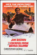 "Movie Posters:Action, I Escaped from Devil's Island (United Artists, 1973). One Sheet (27"" X 41""). Action.. ..."