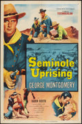 """Movie Posters:Adventure, Seminole Uprising & Other Lot (Columbia, 1955). One Sheets (2)(27"""" X 41""""). Adventure.. ... (Total: 2 Items)"""