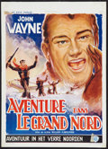 "Movie Posters:Adventure, Island in the Sky (Warner Brothers, 1954). Belgian (14"" X 19.5"").Adventure.. ..."