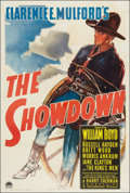 "Movie Posters:Western, The Showdown (Paramount, 1940). One Sheet (27"" X 41""). Western.. ..."