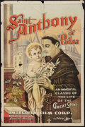 "Movie Posters:Drama, Saint Anthony of Padua (Integrity, 1925). One Sheet (27"" X 41"").Drama.. ..."