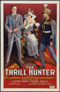 "Movie Posters:Adventure, The Thrill Hunter (Columbia, 1926). One Sheet (27"" X 41""). Style A.Adventure.. ..."