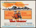 "Movie Posters:Western, The War Wagon (Universal, 1967). Half Sheet (22"" X 28""). Western.. ..."