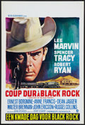 """Movie Posters:Thriller, Bad Day at Black Rock (MGM, R-1960s). Belgian (14"""" X 22""""). Thriller.. ..."""