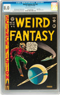 Golden Age (1938-1955):Science Fiction, Weird Fantasy #16 (#4) (EC, 1950) CGC VF 8.0 Off-white to whitepages....
