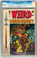 Golden Age (1938-1955):Science Fiction, Weird Science-Fantasy #27 (EC, 1955) CGC VF+ 8.5 Off-white to whitepages....