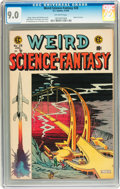 Golden Age (1938-1955):Science Fiction, Weird Science-Fantasy #28 (EC, 1955) CGC VF/NM 9.0 Off-whitepages....