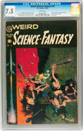 Golden Age (1938-1955):Science Fiction, Weird Science-Fantasy #29 (EC, 1955) CGC VF- 7.5 White pages....